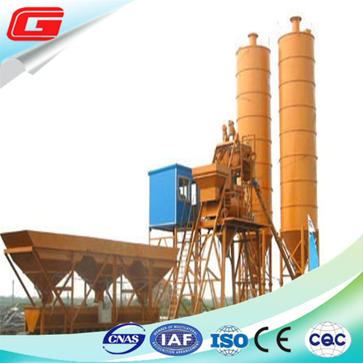 25m3/h-75m3/h concrete batching mixing plant machinery with factory price