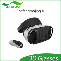 High Quality Baofeng Mojing 4 storm 3D Glasses VR 3d glasses II Fit IOS/Android Smart Phones With Bluetooth
