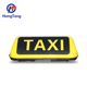 Magnetic type single side taxi top advertising signs for developing country