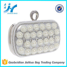 ladies wedding clutch bag crystal cosmetic bag hard case evening bag