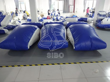KWP-015 crazy giant water game lake inflatable water blob for sale