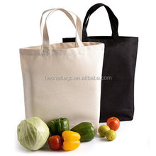 Food & Vegetable Storage Supermarket Cotton Canvas Shopper Bag