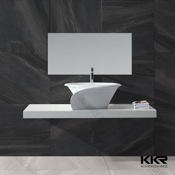 KKR cheap hotel designer china bathroom led mirror