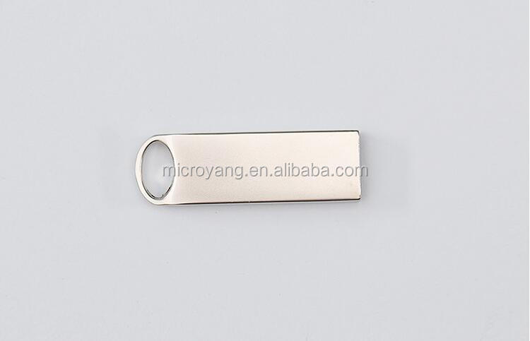 logo printed cheap and good metal generic usb flash disk for promotion
