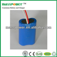 Powerful and safe li-ion battery pack 3.7v 4500mah long way rechargeable battery