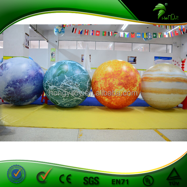 2016 full set of inflatable planet helium balloons earth. Black Bedroom Furniture Sets. Home Design Ideas
