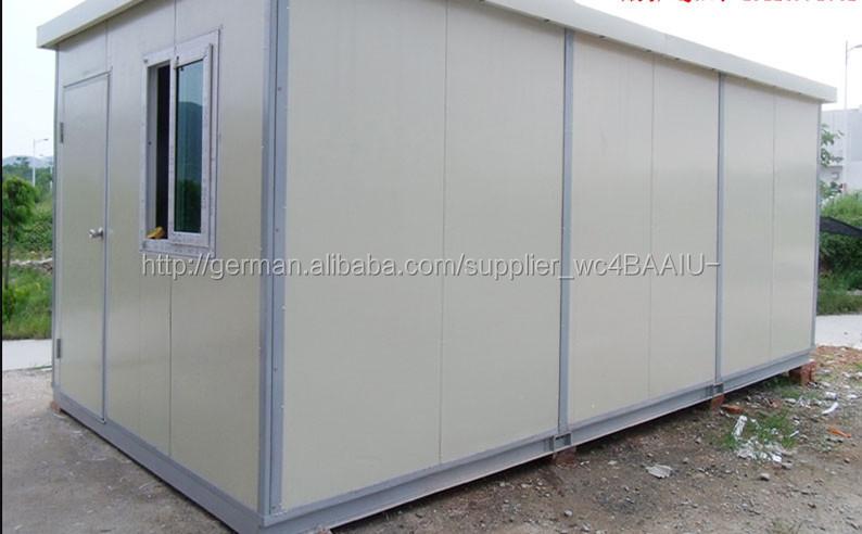 Leichte stahl mobilen hergestellt container haus 20ft for Container haus anbieter
