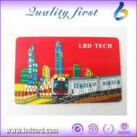Free Sample ISO 14443A Plastic IC Card with Serial Number Printing