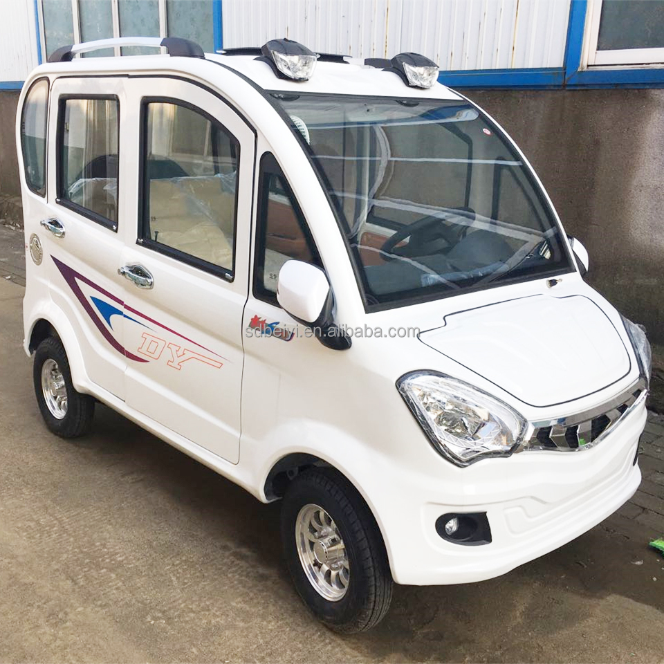 Popular Hot Selling 4 Seats High Quality Electric Car / Cheaper Electric Vehicle With 1200w Motor/Electric Car Sedan For 4 Door