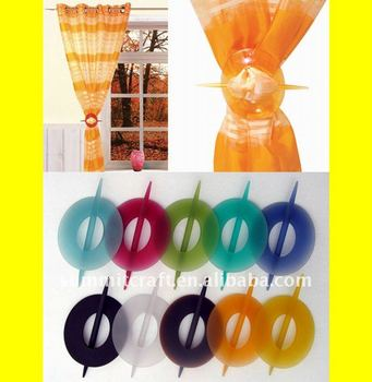 Promotional designed resin modern curtain holder