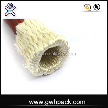 Fiber glass coated with silicone sleeve GWH-A-A ID100MM 4""