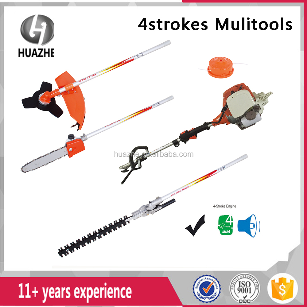 CE/GS Approval 4 Stroke 700 W Petrol 2in1 Brush Cutter /Grass Trimmer