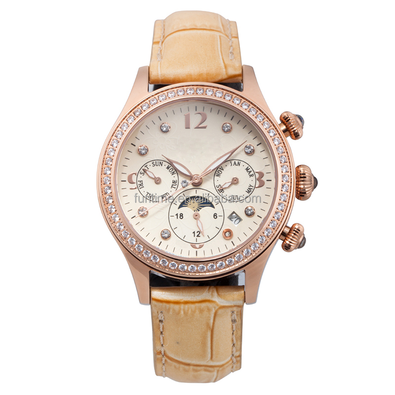 Fashion with jewelry ladies watches Luxury brand automatic watches in wrist watches for ladies