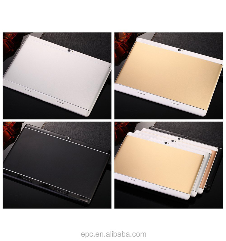 Tablet Pc 10 inch MTK Quad Core 4G LTE 1920*1200 FHD Android 7.0 OS Phablet