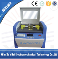 XHYY102 series portable on field transformer oil testing instrument oil measuring instrument