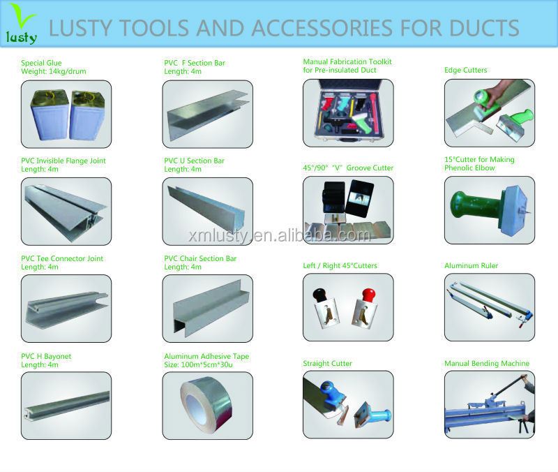 Hvac Pre Insulated Duct Tools Ductwork Tools Ductwork