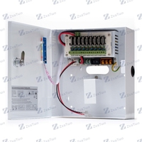 Security Switching CCTV Camera Power supply Power box, backup battery