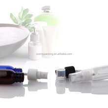 30ml Plastic PET Boston Round Bottle with Fine Mist Sprayer pump and dust cap