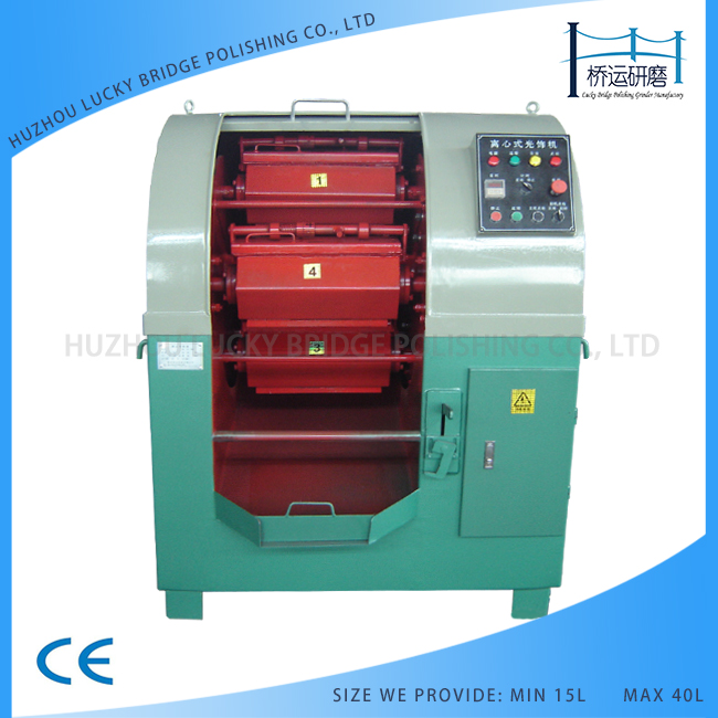 15L-320L Surface polishing machine of centrifugal barrel finishing polishing deburring machine