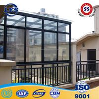 Professional Aluminum Glassed Sun Room in Balcony / Aluminum glassed garden room