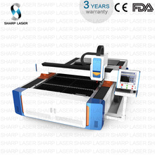 CF1530 iron 1kw 500w raycus laser cutting machine for metal nameplate gobos