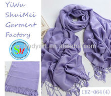 Light Purple Ladies Evening Shawls and Scarves Pashmina CHZ-064(4)