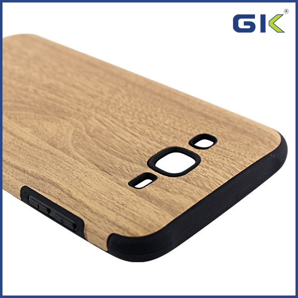 [GGIT] Fashion Painting With Wood Grain Design Soft TPU Phone Case For Samsung Galaxy J7 Celulares Cover