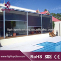 Outdoor vertical blinds with Remote Control Switch Operation Method sun shade