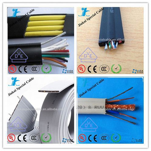 YFFB TVVB DMX 6X4mm Flat Cable For Elevator