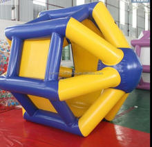Interesting Inflatable floating water toys like a hot wheel for sale