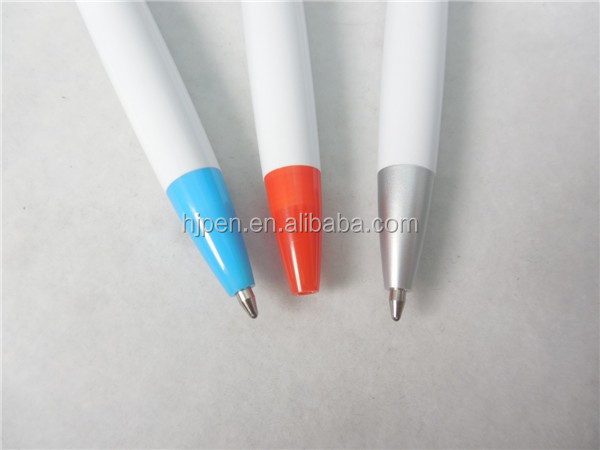 Novelty promotional plastic ballpoint pen with custom logo,promotional stationery