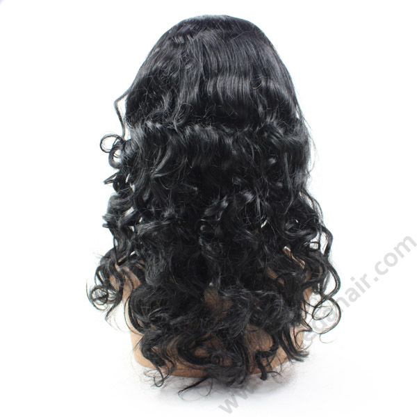 China manufacturer big discount wholesale brazilian full lace natural hair wig