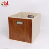 Wholesale Wood Grain Color Storage Box Decorative