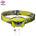 2017 Ningbo factory high power camping headlamp,rechargeable headlamp,led hunting headlamp motion sensor headlamp