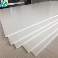 3D thermoforming white pvc sheet plastic for wall panel
