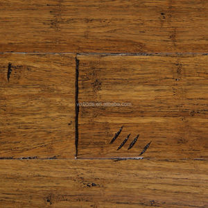 Antique Carbonized Strand Woven Bamboo Flooring