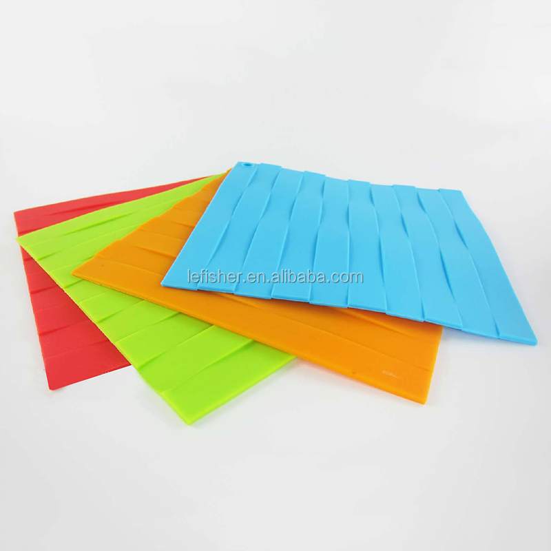 Weave Shape Silicone Dinner Christmas Placemats,Place Table Mats Tableware Dinnerware Pure Color Kitchen Table Tools