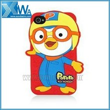 3d Pororo silicone case for iphone 4 4s