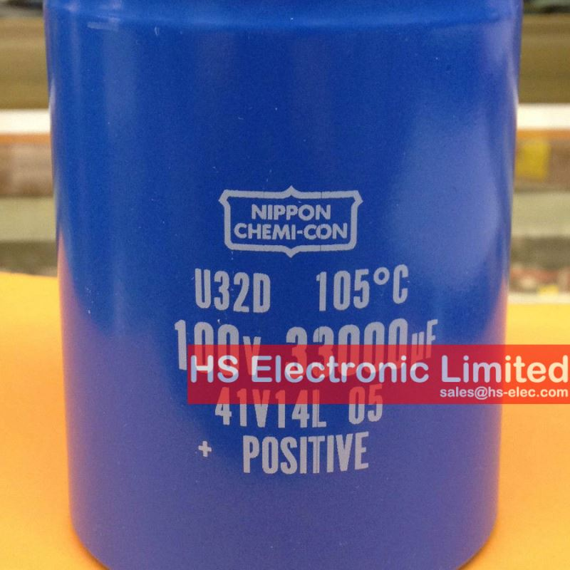 E32D101HPN473MED0M Aluminum Capacitors 47000UF 100V SCREW U32D Series