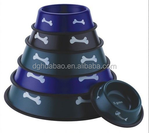 wholesale fashion design dog bowls ceramic