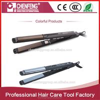 salon equipment cheap price professional electric flat iron ceramic steam hair straightener
