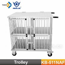 Aluminum Pet Cage Dog Trolley KB-511