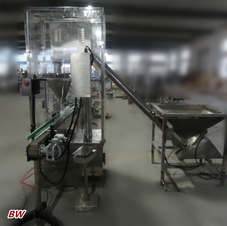 factory price automatic dry nutmeg powder bottling machine