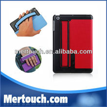 Factory multi-function stand for ipad leather mini smart cover tablet case 8 colours