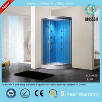 Cheap plastic shower cabin corner shower cubicles sizes