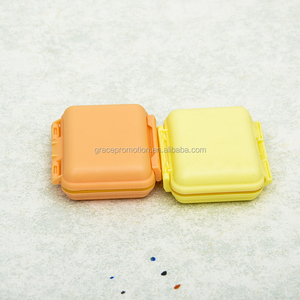 Wholesale 6 cases small pill box with custom logo