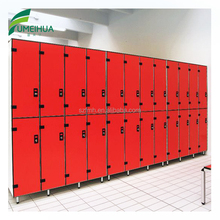 4 compartment yellow ideal uniform lockers