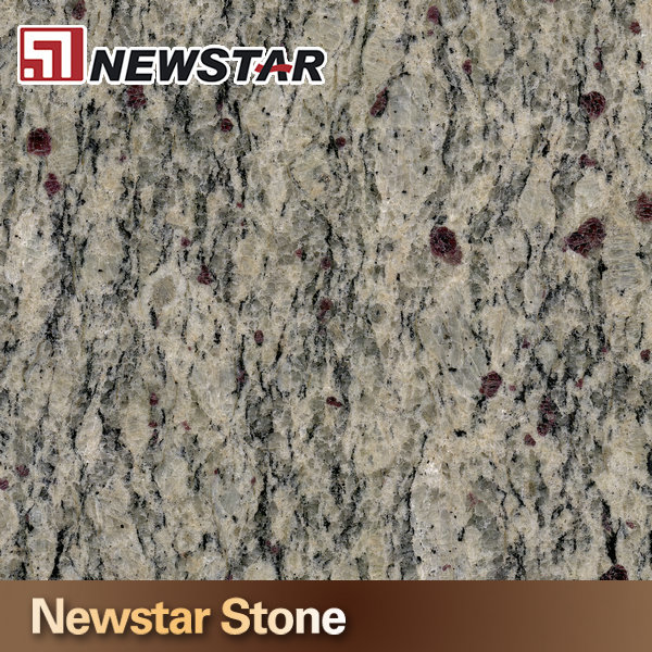 Newstar Giallo Cecilia Fantasy Granite Bench European Style Vanity Top