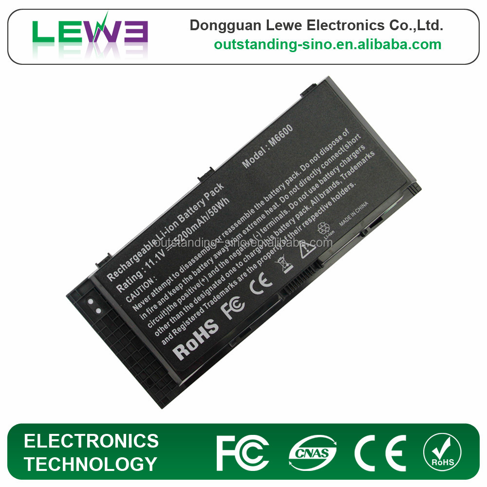 New Battery for Dell Precision M4600 M4700 M6600 M6700 97KRM KJ321 X57F1 0FVWT4