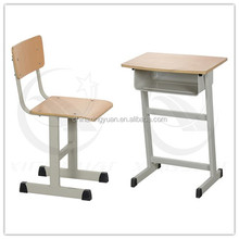 School classic furniture wholesale school student studay table and chair